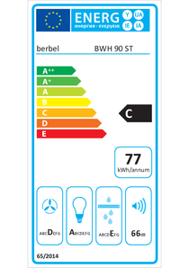Energy-label berbel BWH 90 ST