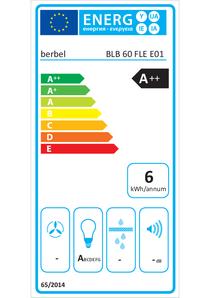 Energy-label berbel BLB 60 FLE