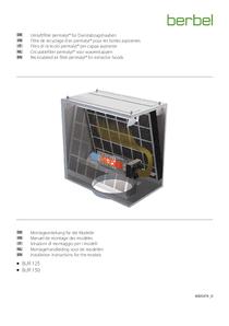 Manuel de montage Filtre de recyclage d'air permalyt® BUR 150
