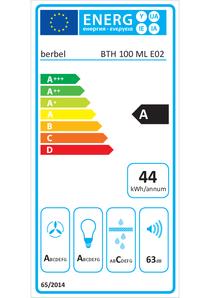 Energy-label berbel BLB 100 ML