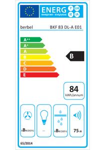 Energy-label berbel BKF 83 DL