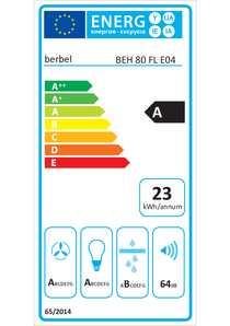 Energy-label berbel BEH 80 FLT