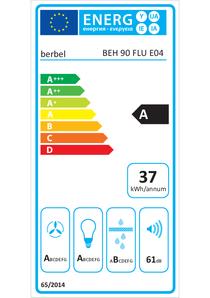 Energy-label berbel BEH 90 FLU