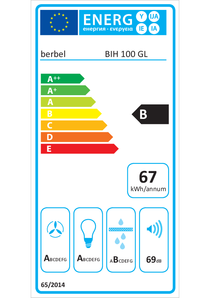 Energy-label berbel BIH 100 GL