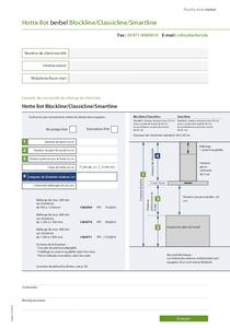 Instructions de planification berbel BIH BL CL ST