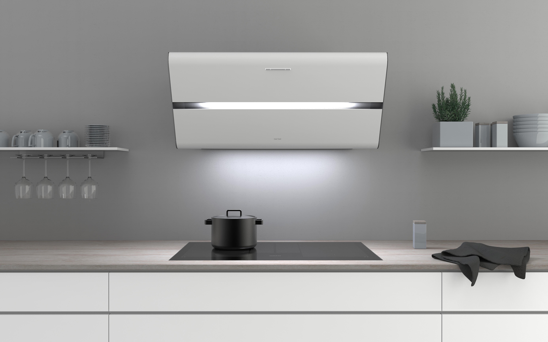 Un design promu dans de nouvelles couleurs - Hotte inclinée Smartline