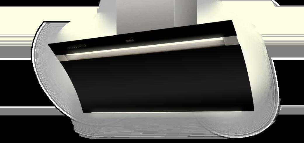 hotte inclinee glassline berbel ablufttechnik gmbh. Black Bedroom Furniture Sets. Home Design Ideas
