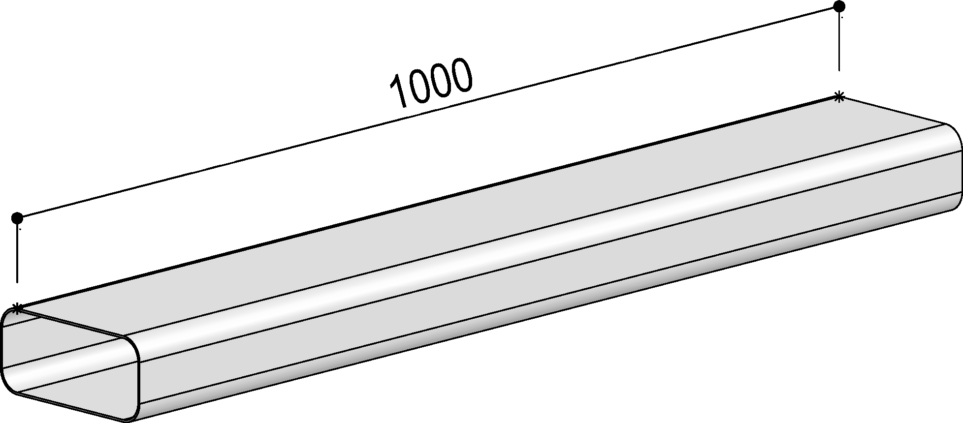 Système 125– <strong>gaine plate</strong>